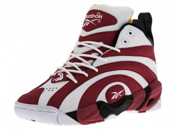 302ec100282c68 Reebok Shaqnosis - Black - Nuclear Yellow - Excellent Red ...