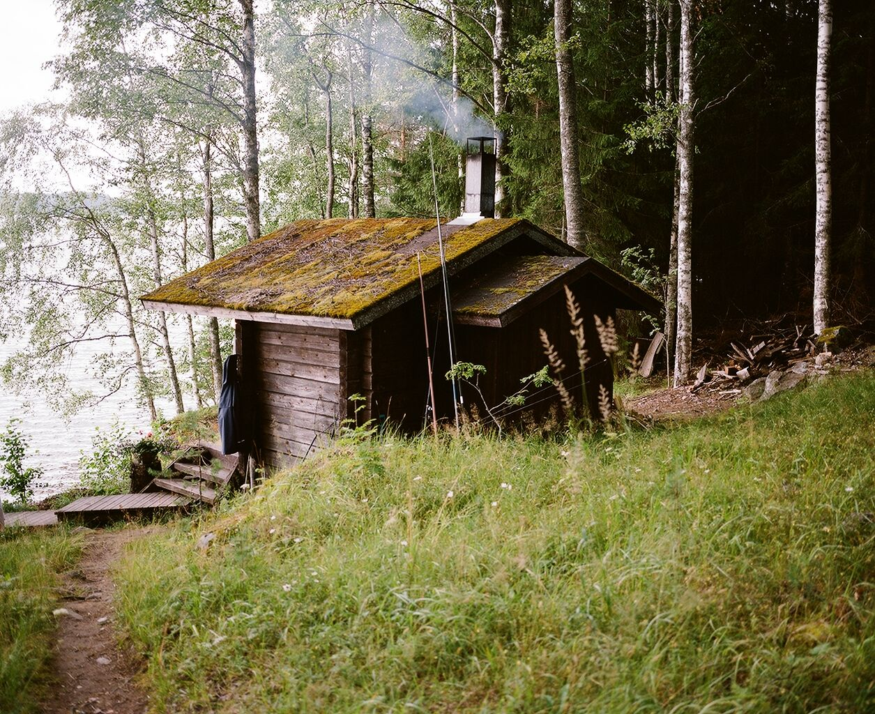 Log cabin porn