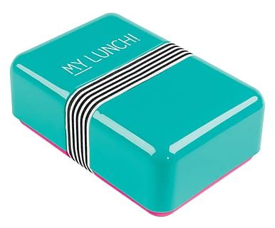 Turquoise Lunch-Box My Lunch,