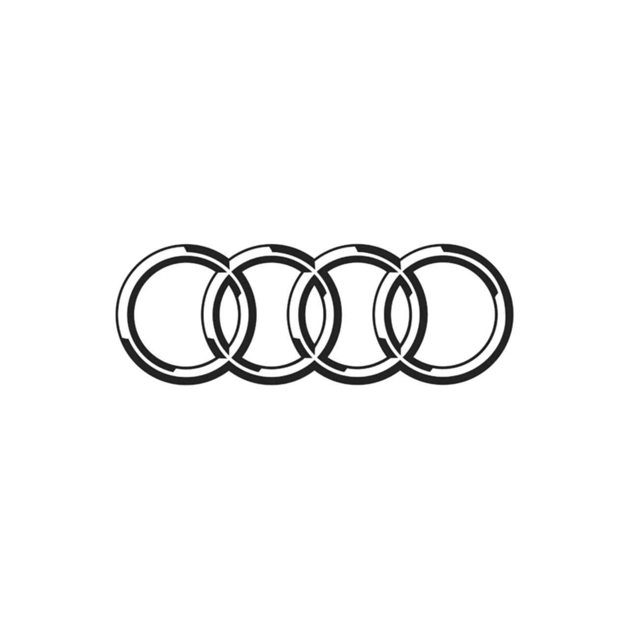 Audi Logo 2 Vinyl Decal Ballzbeatz Com
