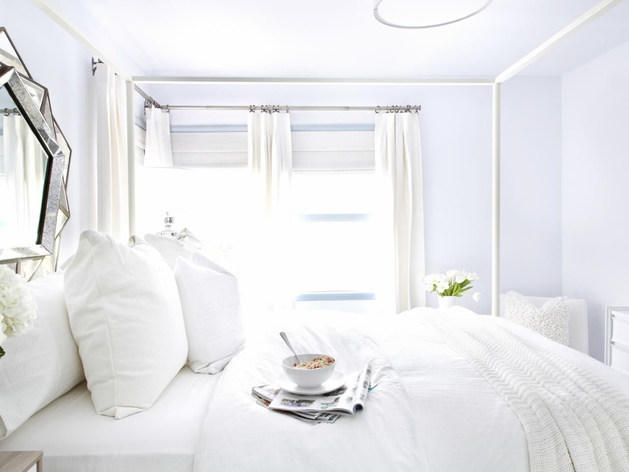 White On White Guest Bedroom Makeover