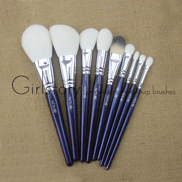 Soft sokouhou goat hair synthetic fiber makeup brushes