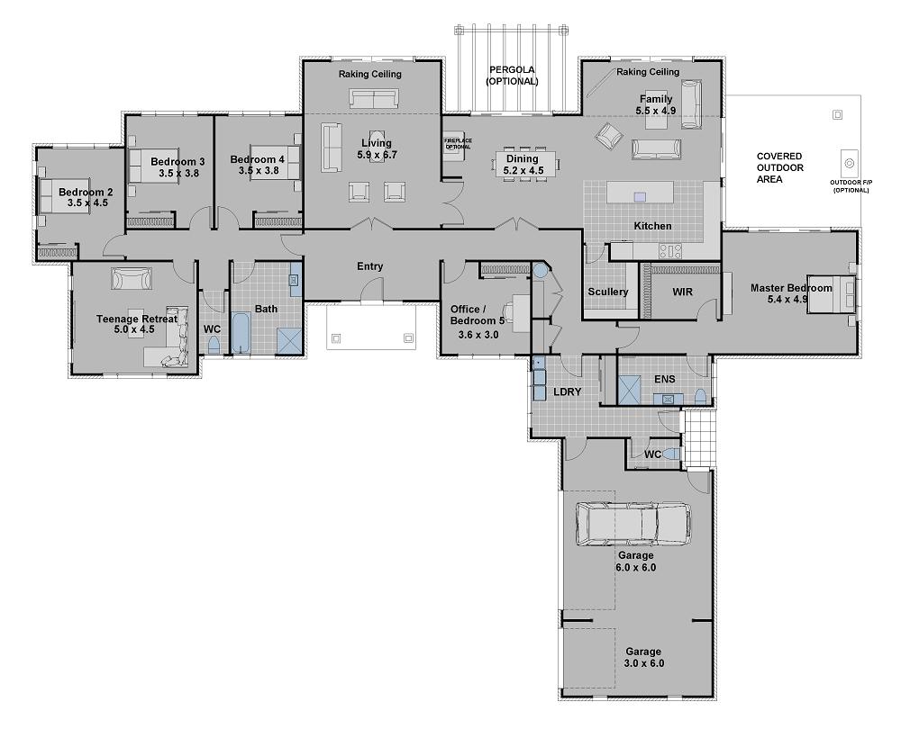 Our Plans Hallmark Homes Canterbury S Design And Build Specialists Dream House Plans Home Design Floor Plans House Blueprints