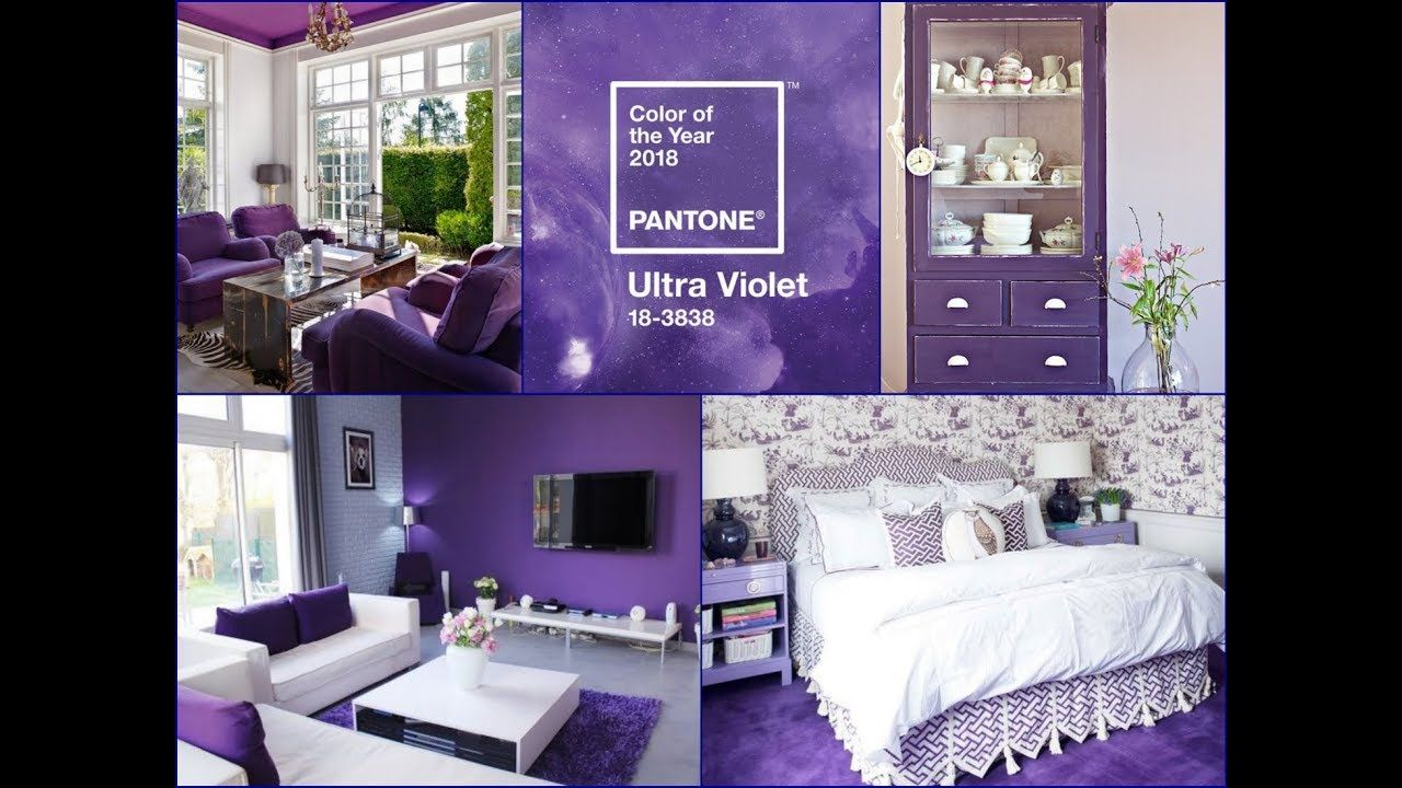 Ultra Violet Interior Design Ideas Pantone