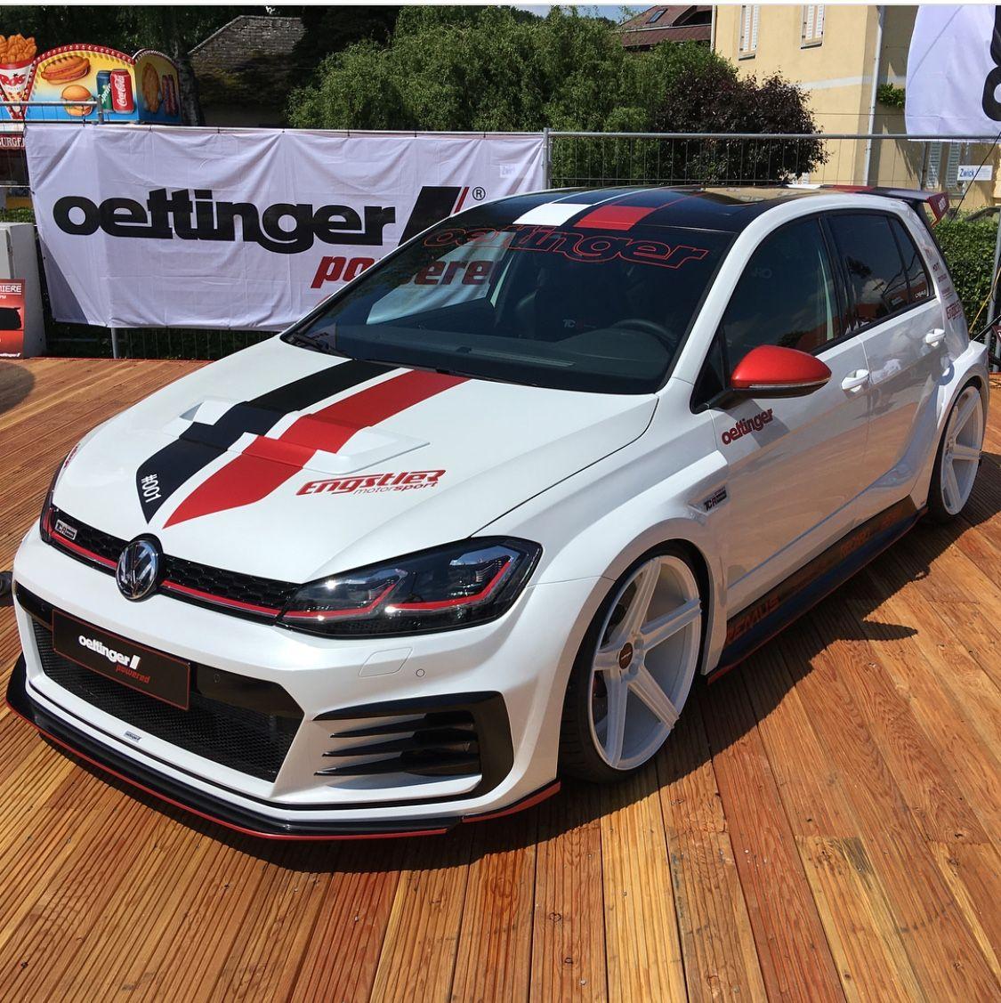 Oettinger Golf Tcr Gti Mk7 Volkswagen Golf Gti Vw Golf