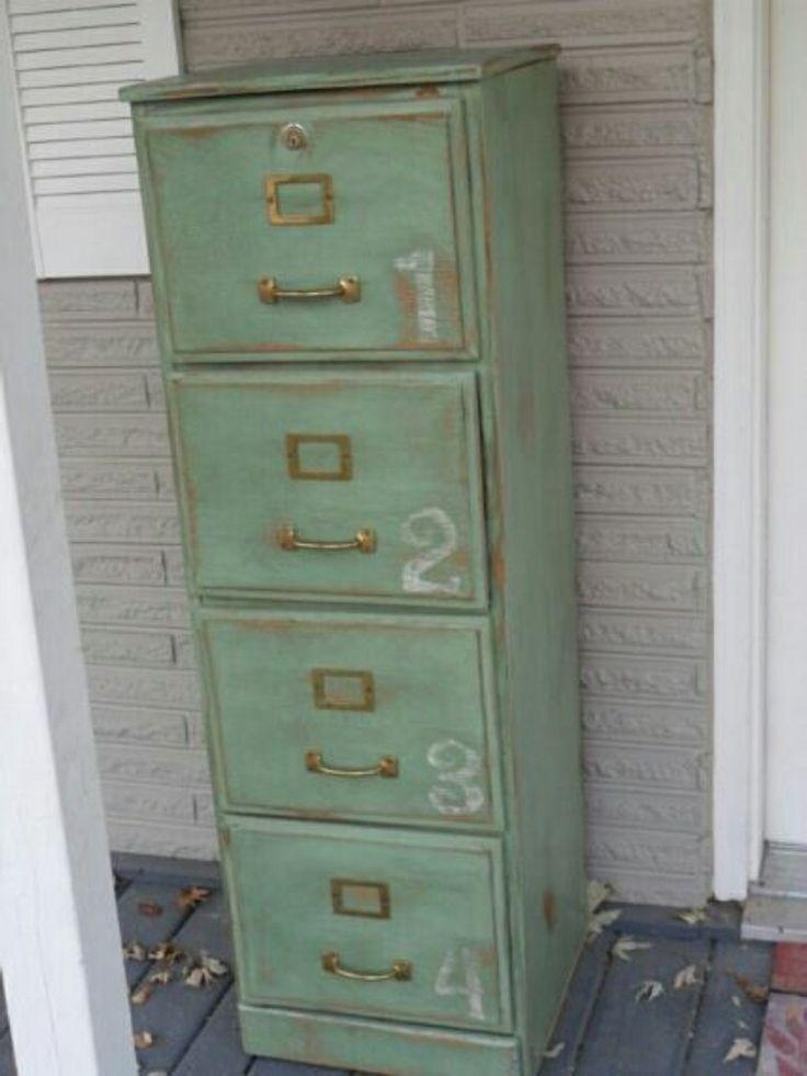 Image Result For Revamp Old File Cabinet