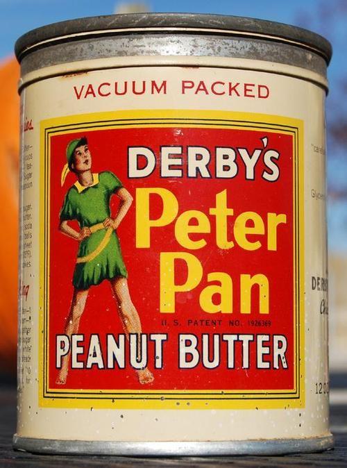 Vintage Peterpan Peanutbutter Tin