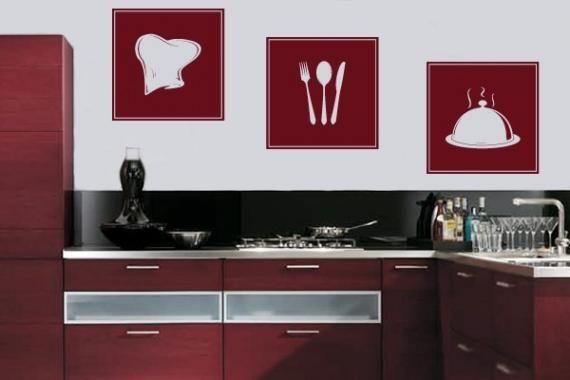 Casa e Decoração: Cozinha Adesivada - VilaClub