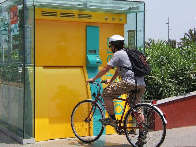 Bici estacionamiento (máquina)