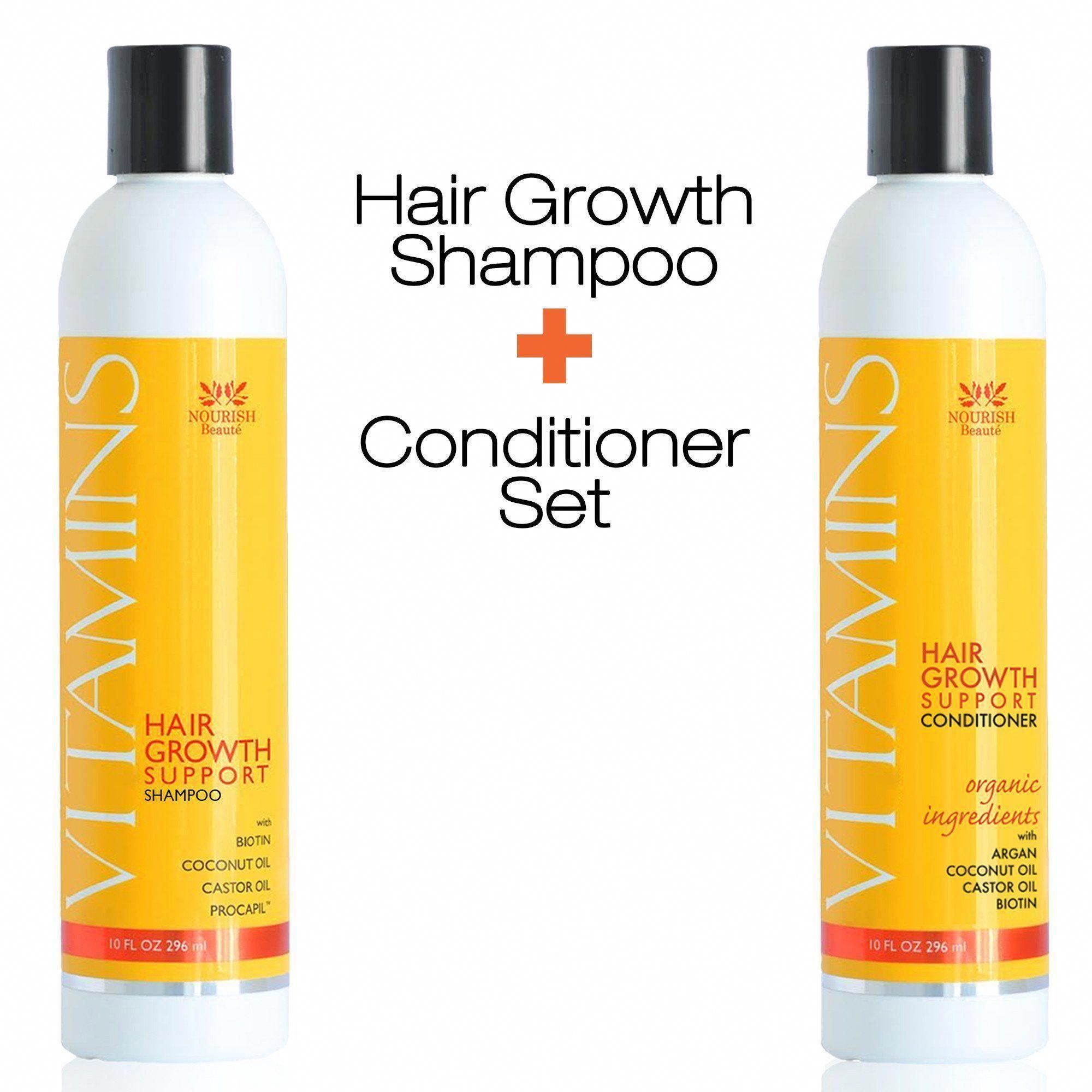 Vitamins Hair Growth Support Shampoo Conditioner Vitaminy Dlya Rosta Volos Vitaminy Dlya Volos Vypadenie Volos U Zhenshin