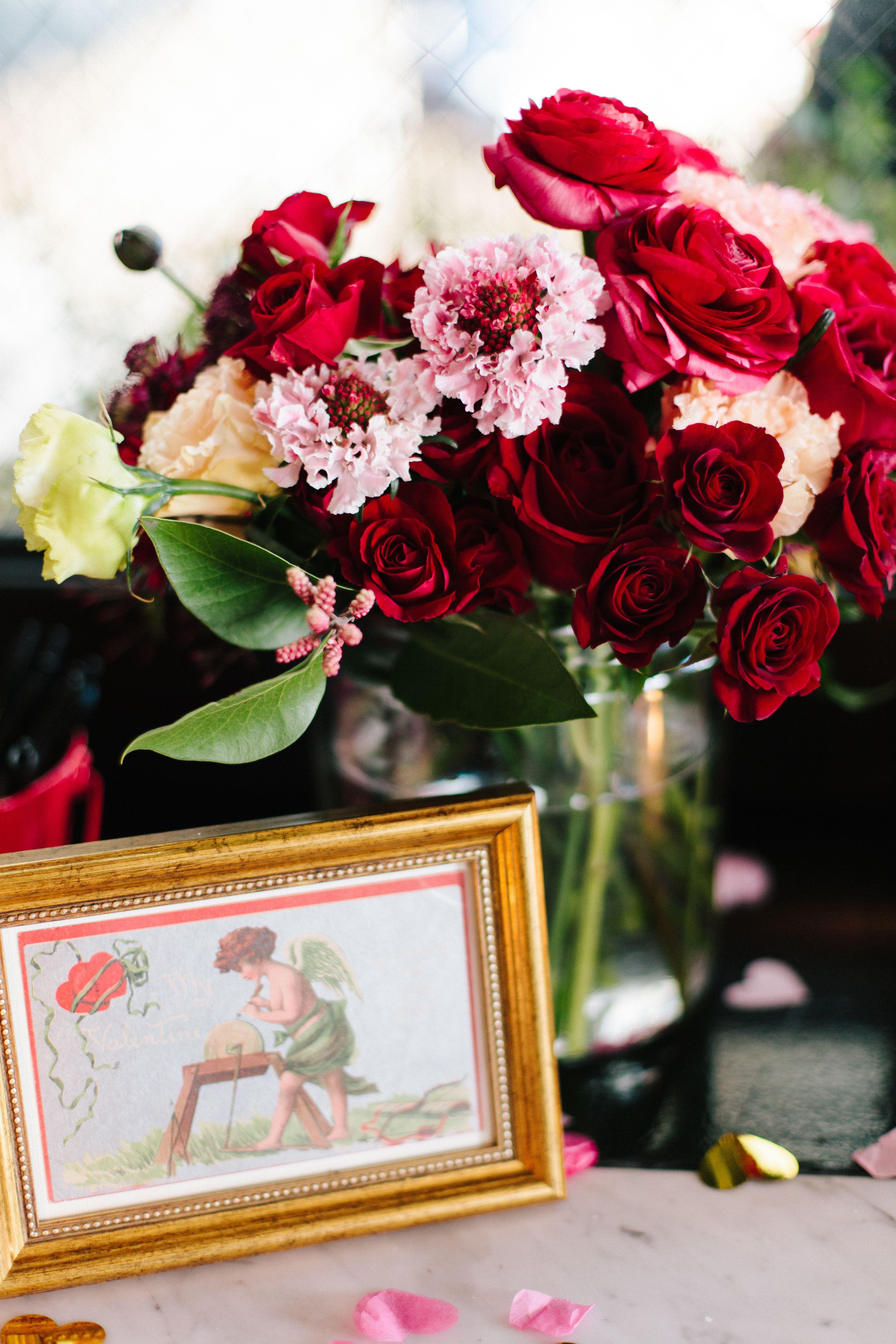 Wedding decorations black and gold  GoldFramed Valentineus Day Postcards  WEDDING GOWNS   Pinterest