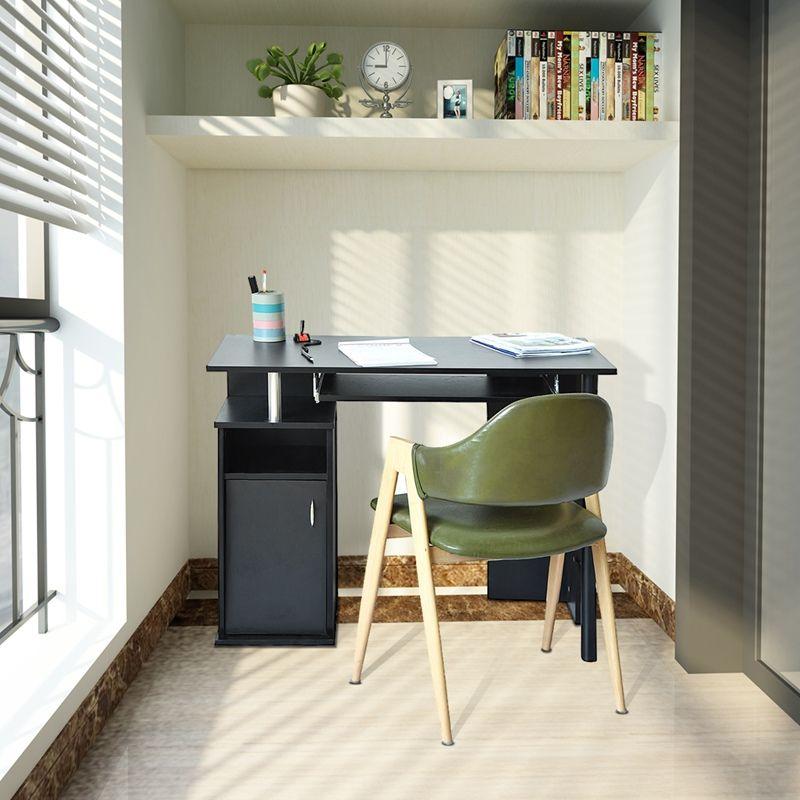 kompakte computer schreibtisch mit schrank regale storage fr home office heier verkauf kompakte - Kompakte Computerschreibtische Fr Zuhause