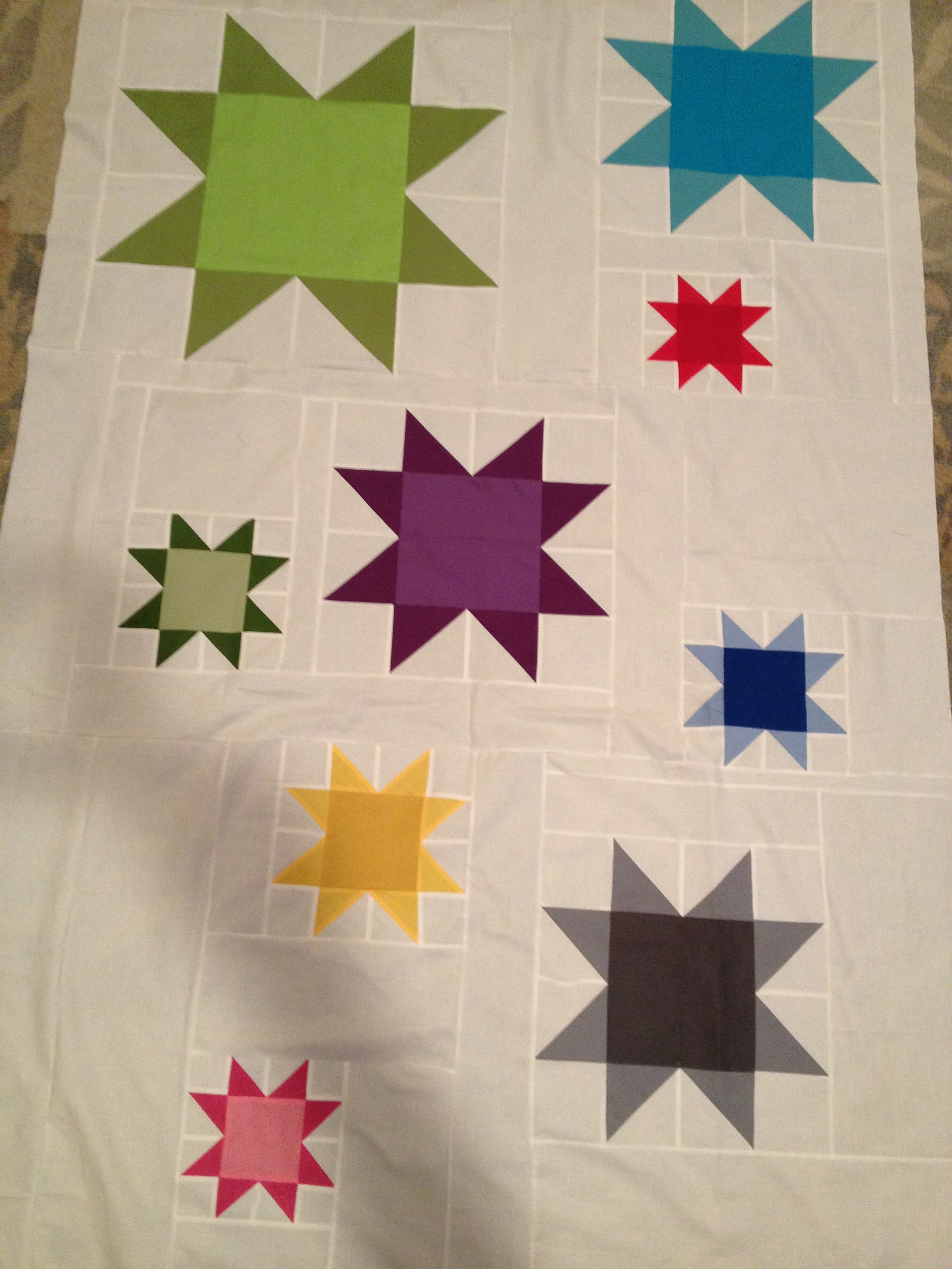 Modern Take On Ohio Star Quilt Quilt Design Pinterest
