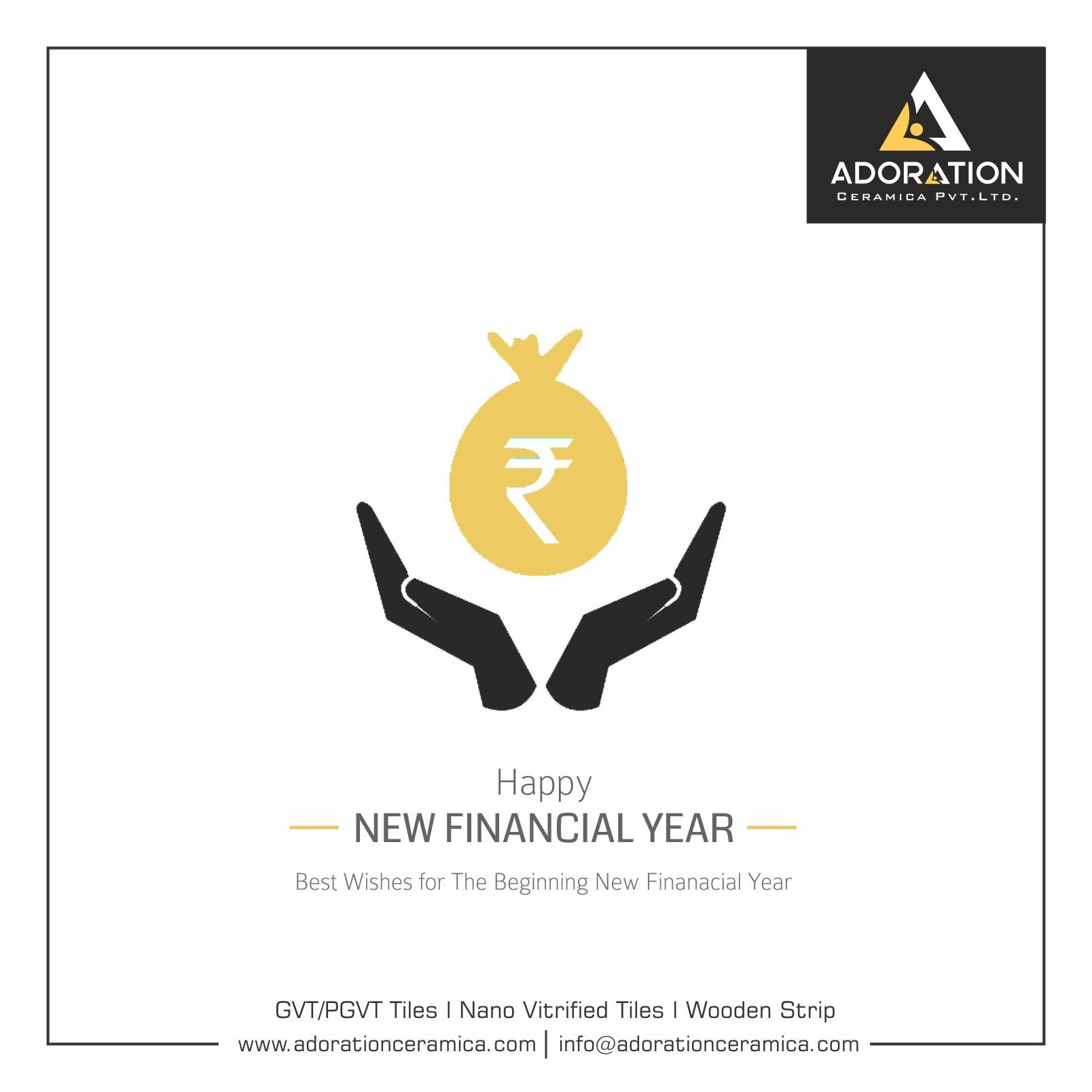 Best wishes for the beginning New Financial Year! Wishing