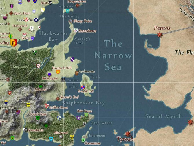 Google Maps meets \'Game of Thrones\' in interactive Westeros map ...