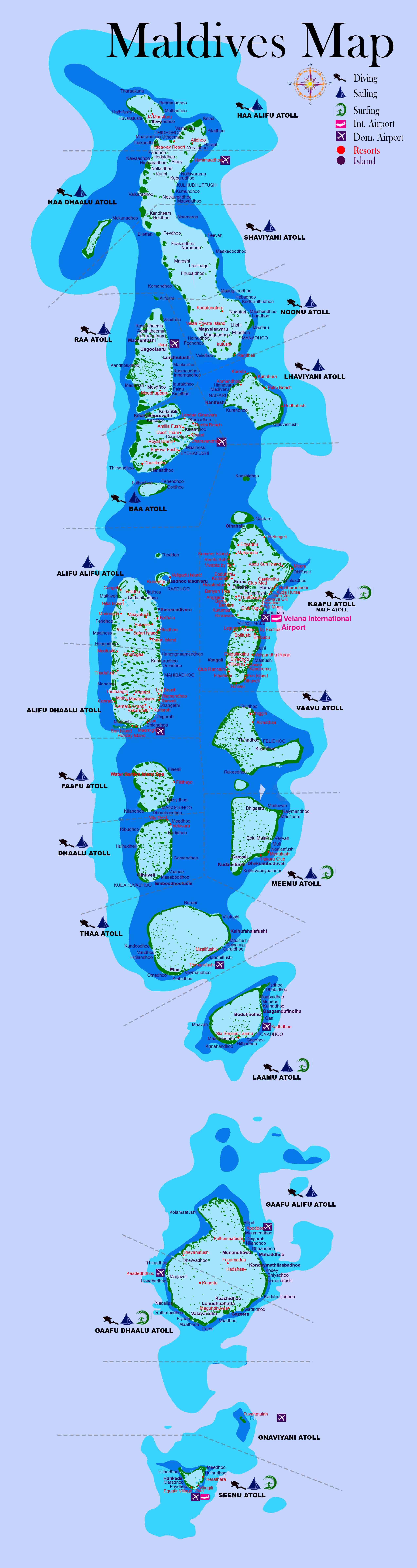 Maldives Map Full Where Is Maldives Visit Maldives