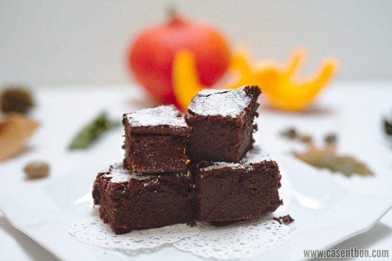 Gâteau au chocolat potimarron sans beurre ni farine sans ...