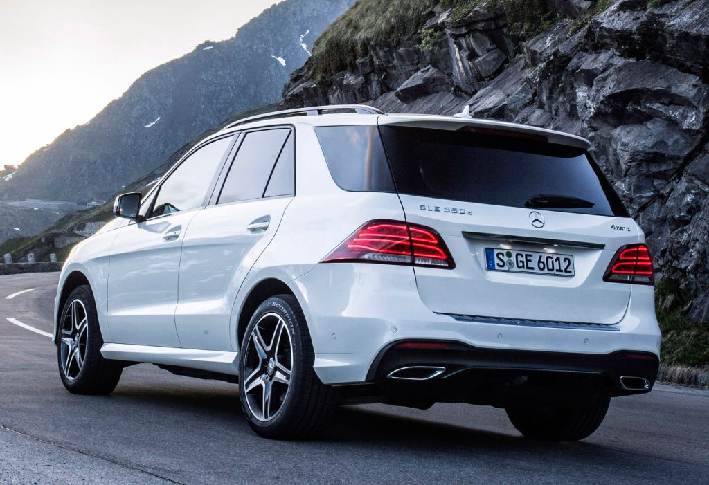 Mercedes Benz Gle 350 D 4matic Amg Line W166 2015 With Images