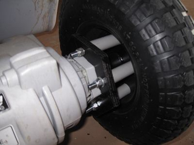 Modified power wheels tires