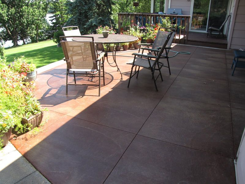 Concrete Acid Staining Minneapolis | Decorative Concrete Acid Stain U0026  Stamped Concrete | St Paul Minnesota
