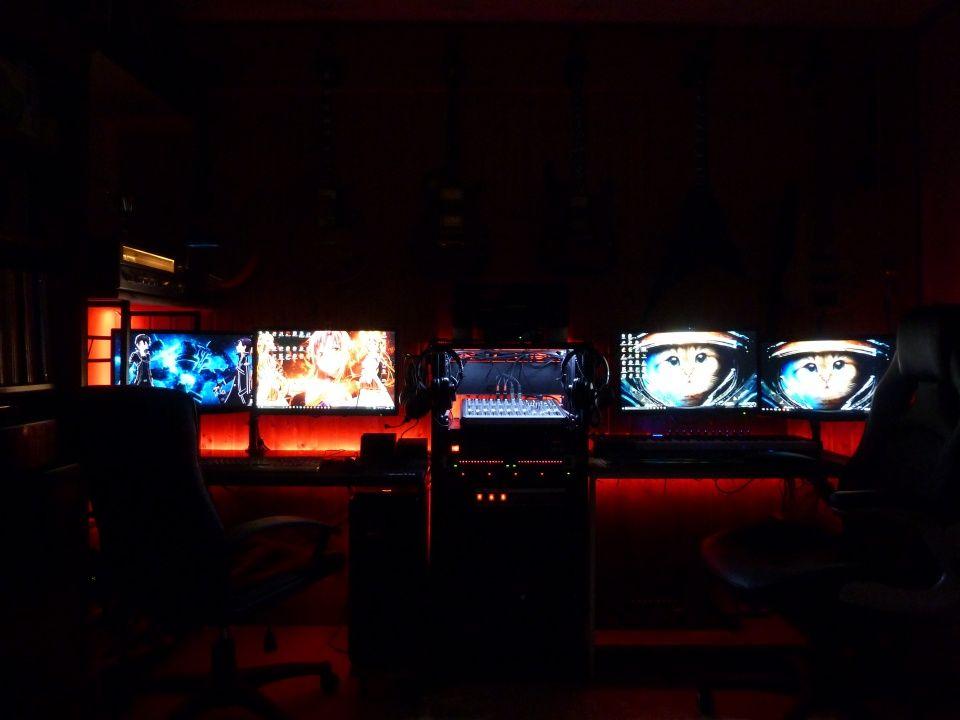 Bureau gaming et home studio by chamanboubou pc gamer de la