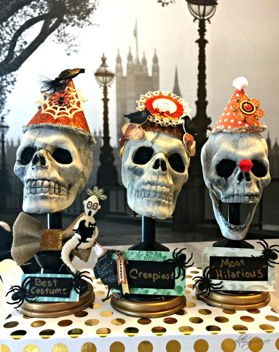 Dollar Tree Halloween Costume trophy DIY Halloween