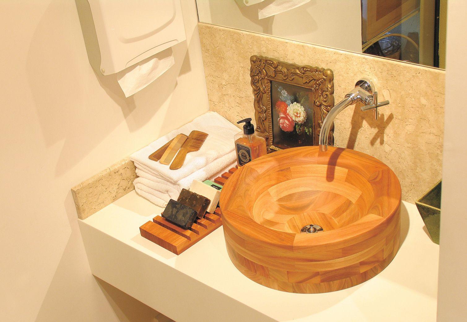seu banheiro rústico e sofisticado, sempre sustentável conheça a linha de cu -> Decoracao De Banheiro Sustentavel