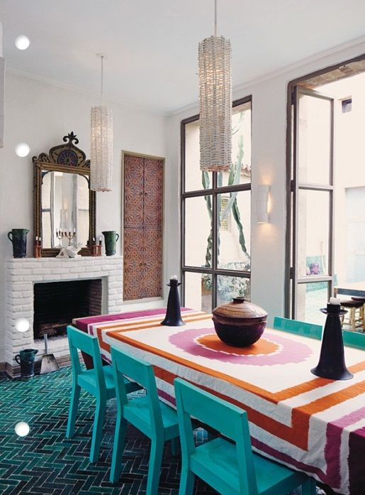 33 Exquisite Moroccan Dining Room Designs Digsdigs Dining Rooms