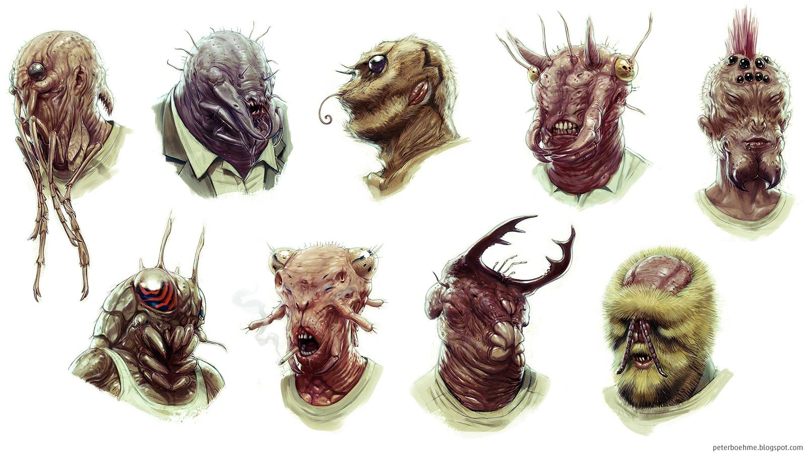 peterboehme.blogs... (With images) Creature design