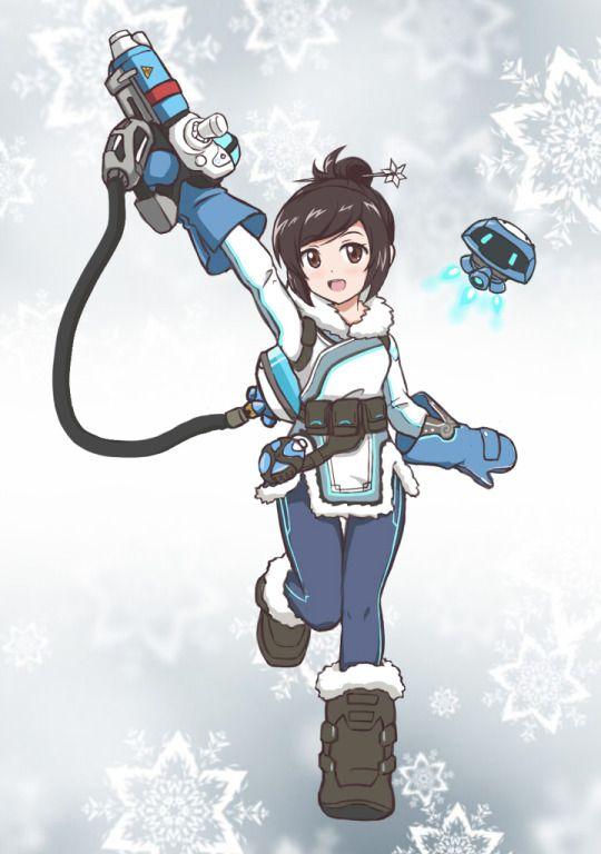 Cute Mei from Overwatch!