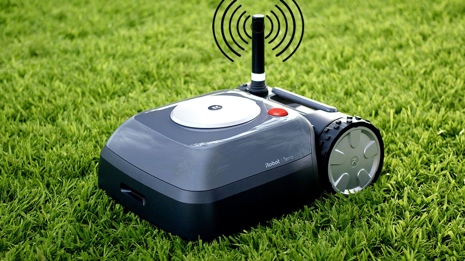 Pin by TechMooz on Garden Gadgets Robotic lawn mower