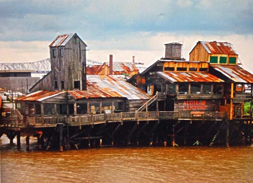 Algiers Landing Restaurant It Has Been Demolished But I Used To Love Go There Back In The Day Via A Ferry Ride From New Orleans And Especially Enjoyed