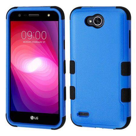 online retailer 88844 0adcd LG X Power 2 Case, by Insten Tuff Hybrid Hard PC/TPU Shock Absorbing ...