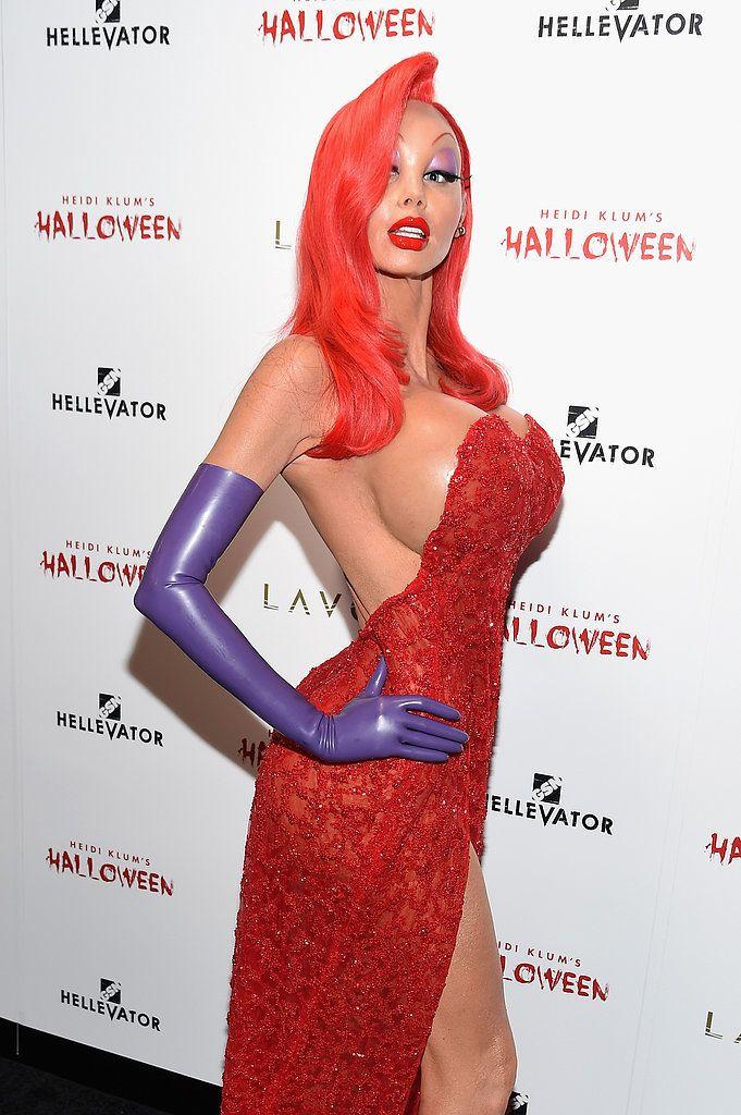 You Definitely Wonu0027t Recognize Heidi Klum in This Jessica Rabbit Halloween Costume  sc 1 st  Pinterest & You Definitely Wonu0027t Recognize Heidi Klum in This Jessica Rabbit ...