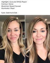 Before and After #ApplyingMascara #MascaraBeforeAndAfter – #ApplyingMascara #Mas…
