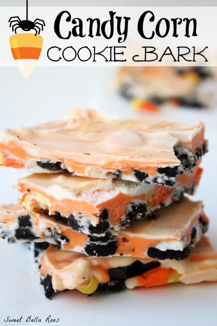Candy Corn Cookie Bark
