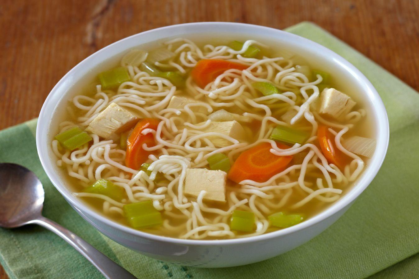 Chicken noodle soup with tofu shirataki yummies yaya pinterest food chicken noodle soup forumfinder Choice Image