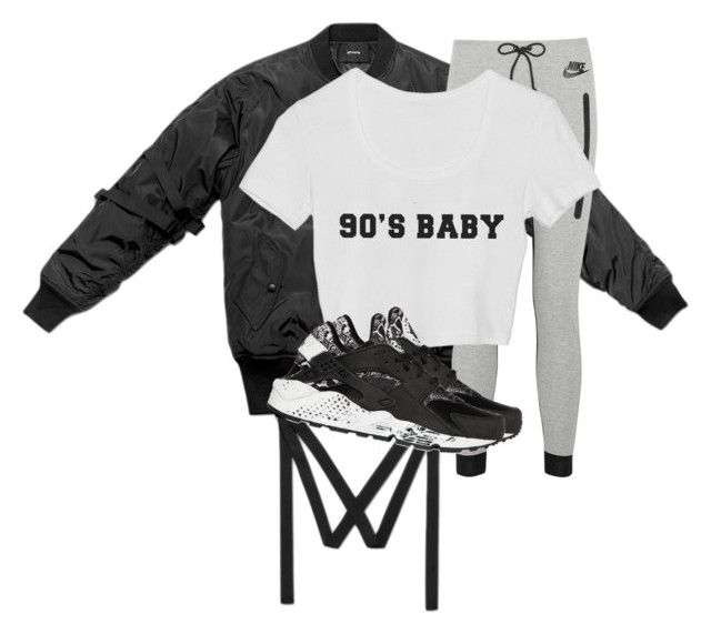 """Untitled #2654"" by xirix ❤ liked on Polyvore featuring NIKE"
