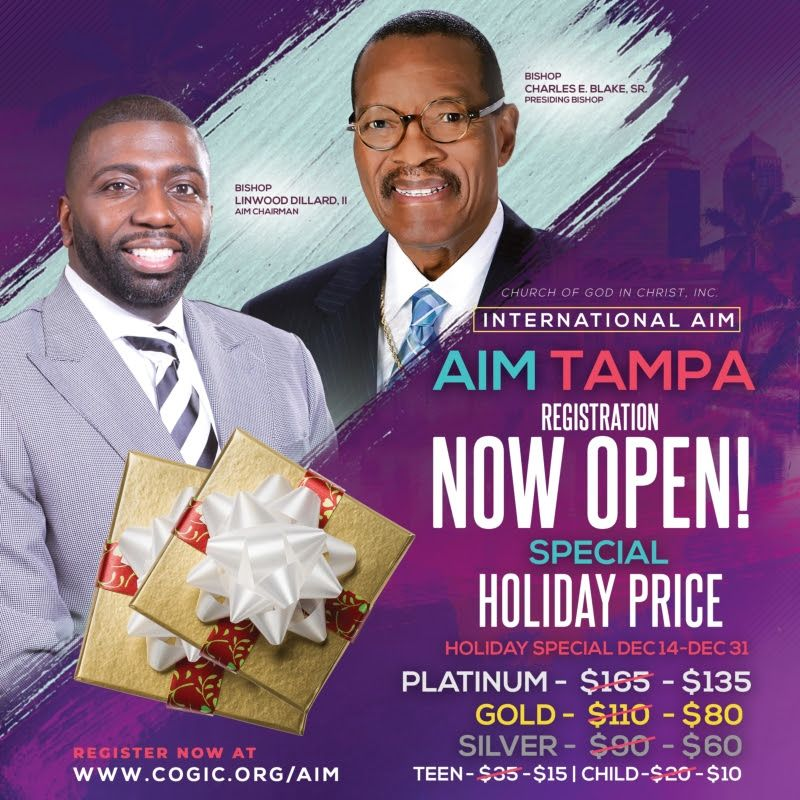 AIM | Auxiliaries In Ministry | TAMPA, FLORIDA | Monday