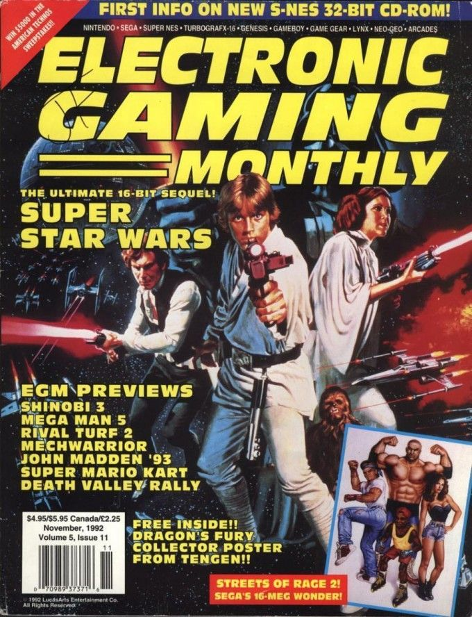 80+ Nostalgic & Epic Video Game Magazine Cover Art & Vintage Design