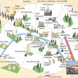 paris maps top tourist attractions free printable mapaplancom a part of under europe