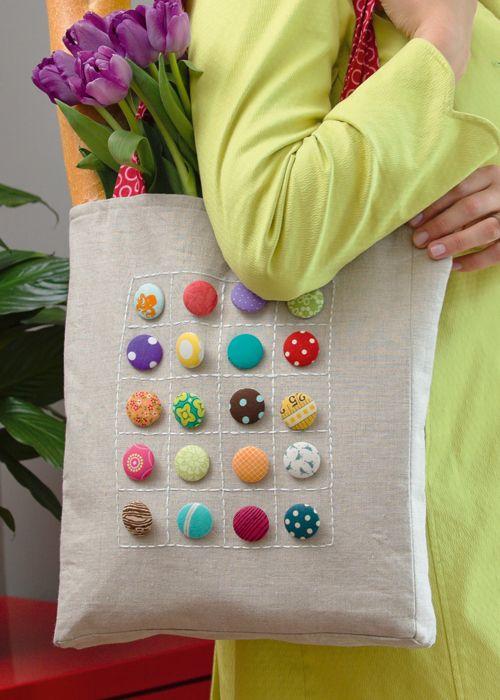 collector 39 s item tote bag everyday handmade tolle. Black Bedroom Furniture Sets. Home Design Ideas