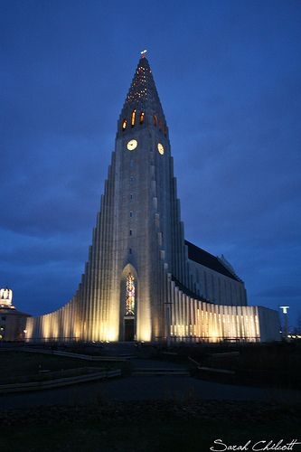 Hallgrímskirkja is the largest church in Iceland, and one of the tallest buildings in Reykjavik
