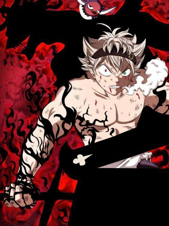 Asta Demon Form    Black Clover #blackclover #demon #anime ...
