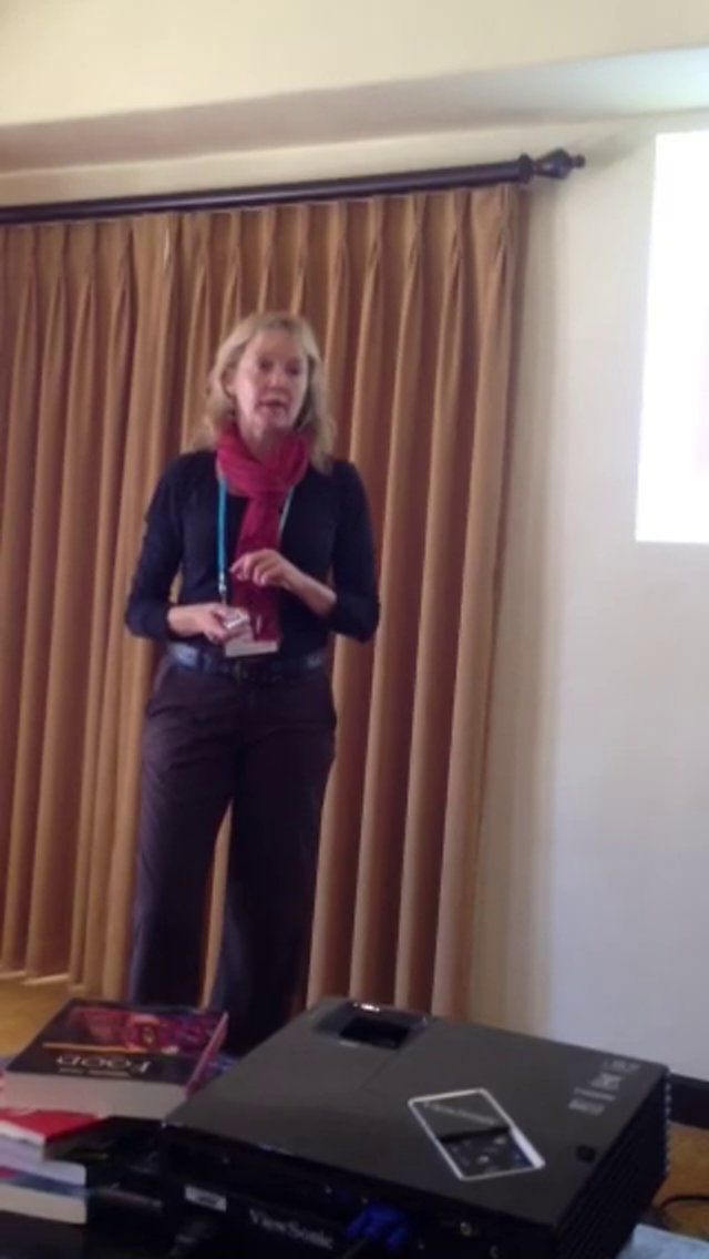 Carla King's easy to understand definition of social media @ #2014 SantaBarbaraWritersConference- The entire 2.5 hour video will be available soon-. She is the perfect 'indie author who knows little & want to know more' fit & GET THIS, her 30 year pedigree in  I.T licenses her to run with the BEST of the cyber wolves..& she does...often on 1 of her many motorcycles, chasing stories she places in motorcycle/travel magazines she freelances for. #Authors,Follow her-the real deal.