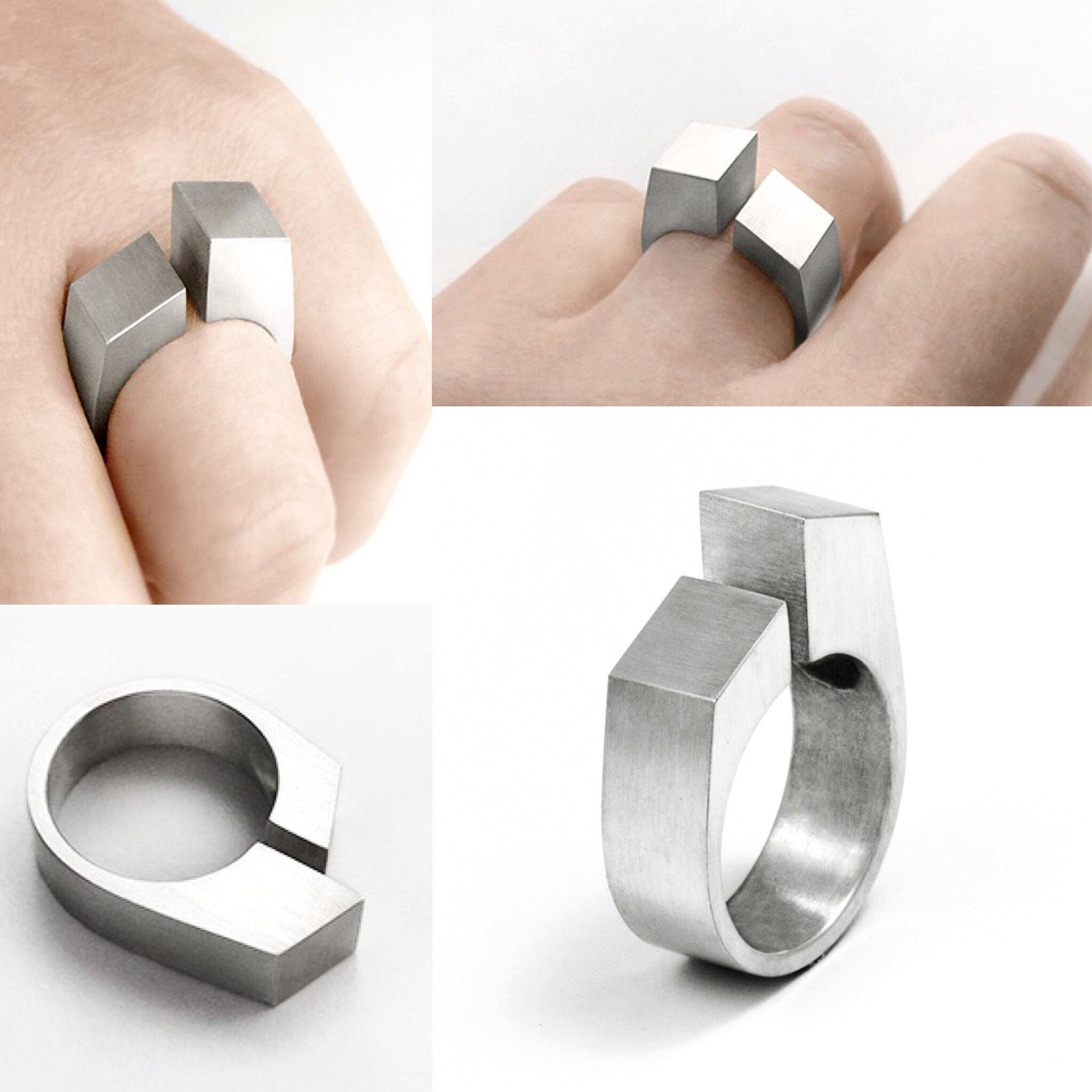 Plateau Ring Susan Snyder Jewelry Modern Jewelry