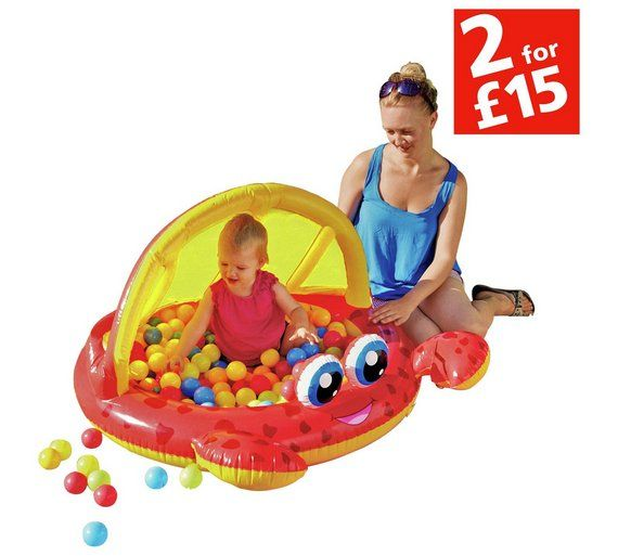 Buy Chad Valley Crab Baby Pool And Ball Pit At Argos Co Uk Visit