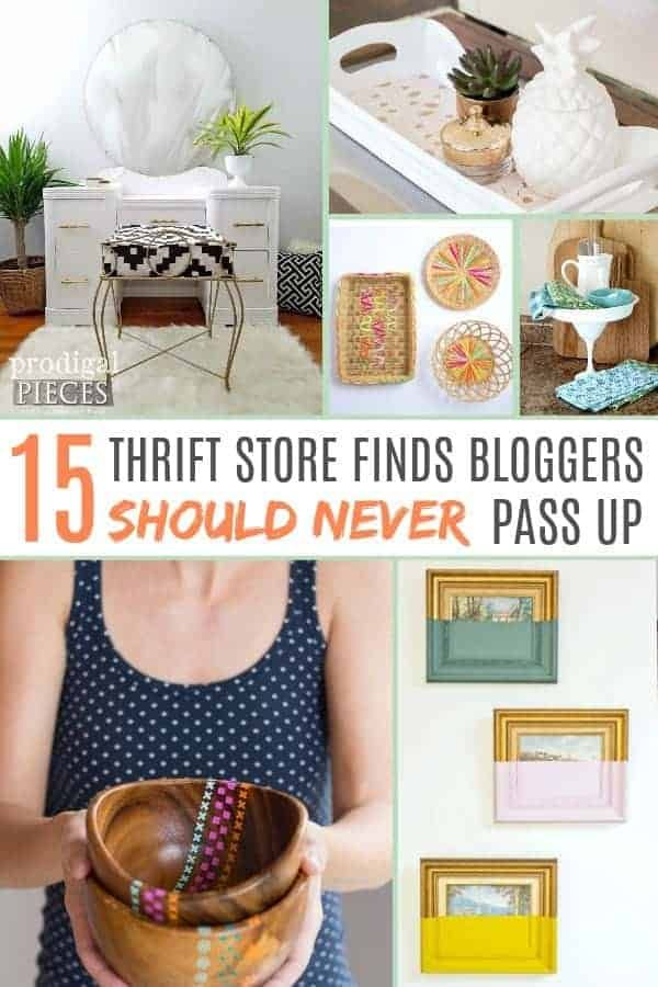 15 Stunning Thrift Store Home Decor Finds to Flip Over #thriftstorefinds
