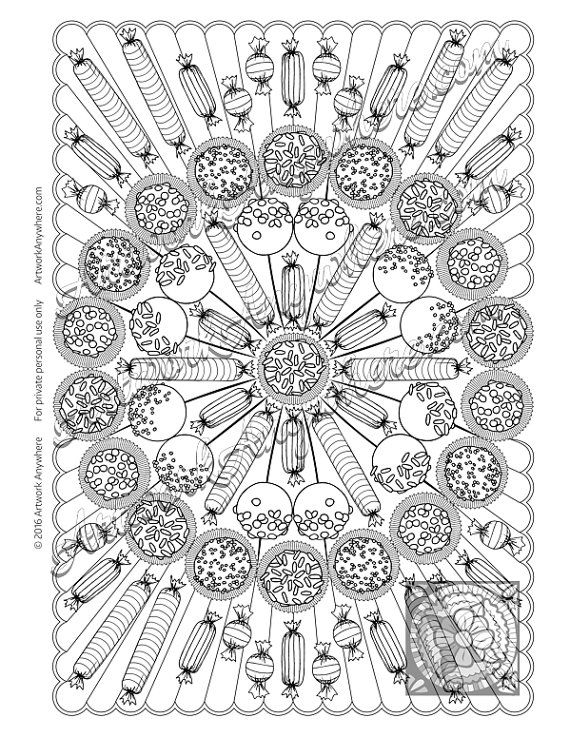 Pin On Mandala Color Pages
