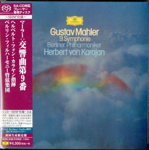 HERBERT VON KARAJAN-MAHLER SYMPHONY NO9-JAPAN MINI LP SHM-SACD - m bel mahler k chenplaner